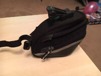 Topeak Aero Wedge Clip On Size M and Size L available Saddle Bag Used