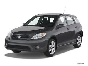 Looking for Toyota Matrix