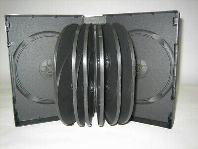 1 New Quality 44mm 1.75 Multi-14 Dvd Cases Black Dh14-90287 Free Shipping