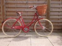 Classic Pashley Britannia Bicycle - hardly used- excellent condition- Royal Red