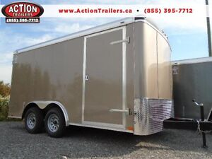 CALLING ALL CONTRACTORS! 8X14 ATLAS CARGO TRAILER - LOW PRICE!
