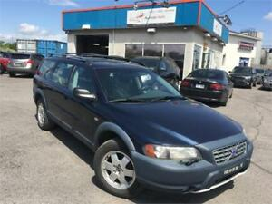 VOLVO V70 XC 2002 AUTO/ AWD/ CUIR/ TOIT OUVRANT/ MAGS/ PROPRE !