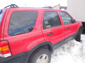 2002 Ford Escape BC CAR