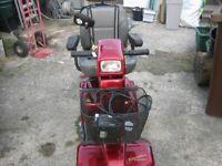 Mobility scooter plus hoist