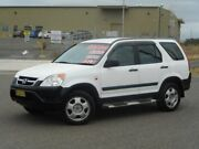 2002 Honda CR-V RD MY2002 4WD White 5 Speed Manual Wagon Run-o-waters Goulburn City Preview