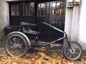 FOR SALE !! A VENDRE !! THE GREAT PAV 3 TRIKE - MADE IN NY USA