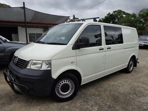 2009 Volkswagen Transporter T5 MY08 (LWB) White 5 Speed Manual Van Sylvania Sutherland Area Preview