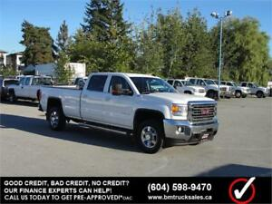 2015 GMC SIERRA 3500HD SLE CREW CAB LONG BOX 4X4 1 TON