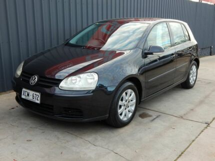 2004 Volkswagen Golf V Comfortline Tiptronic Black 6 Speed Sports Automatic Hatchback