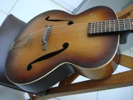 Vintage Zenith Framus archtop model 17 guitar same as Beatles Paul Mccartney player grade