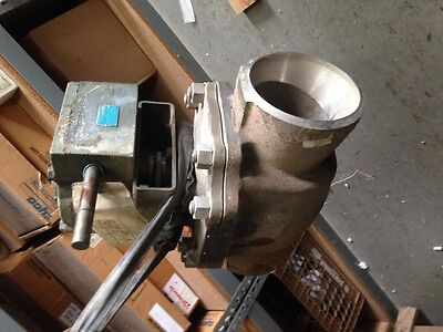 Mccanna 8 150 316 Stainless Steel Butt Weld Top Entry Ball Valve Gear Operated