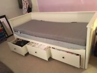 Day Bed - Ikea Hemnes - opens in to double bed