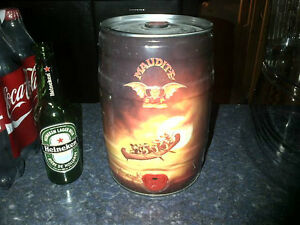 BEER BARREL BARIL BIERE MAUDITE BAR DECORATION COLLECTION SEALED