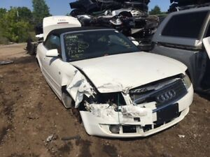 2004 Audi A4 Convertible just in for parts at Pic N Save!