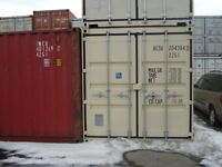 STORAGE/SHIPPING CONTAINERS