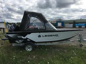 NEW: NON-CURRENT 2016 LEGEND BOAT X16 D.C. PACKAGE