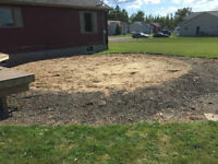 FREE - Sand and Gravel - Located in Shediac Come pick it up