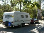 MILLARD Challenger duel axle, single beds, aircon, awning & more. Orbost East Gippsland Preview