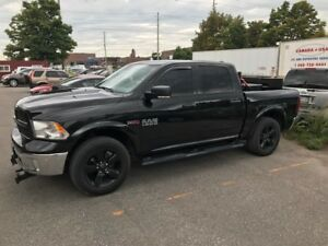 FOR SALE! TWO 2016 DODGE RAM 1500 SLT DIESEL CREW CAB! LOW KMS!