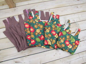 Re-usable handmade sturdy shopping bags