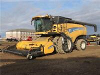 12 New Holland CX8080 Super Conventional Combine 30 MOS INT FREE