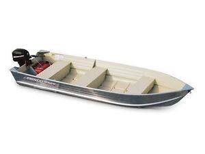 Princecraft Scamper 14' Aluminum Fishing Utility Boat