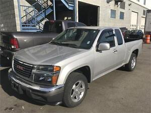 2012 GMC CANYON extended cab 77.000 km silver 4 cylinder