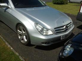 Mercedes 350CLS CDI 4 Door Coupe