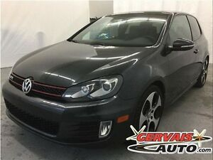 Volkswagen Golf GTI 2.0T DSG Cuir Toit Ouvrant MAGS 2011
