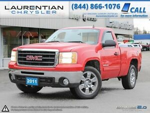 2011 GMC Sierra 1500 REG CAB-SHORT BOX 4X4