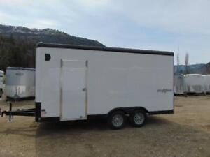 2018 Mirage 8.5X16 Side X Side Cargo Trailer w. Ramp and X Hgt.