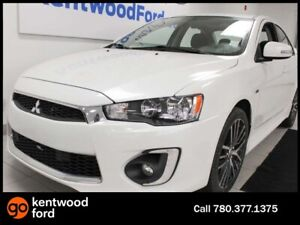 2017 Mitsubishi Lancer GTS 5-SPD FWD manual with a sunroof and b