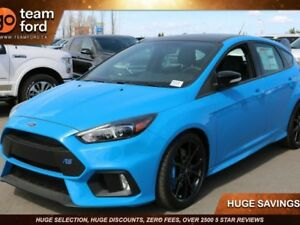 2018 Ford Focus BASE, 600A, SYNC3, NAV, LTHR, MOONROOF, CRUISE C