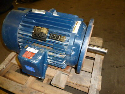 Nos Cleaver Brooks 894-3405 15hp 254tdz Frame 3550 Rpm Electric Motor 3 Phase