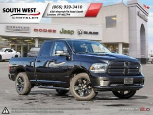 2016 Ram 1500 | Sport | GPS | Parkview | Remote Start | Alpine S