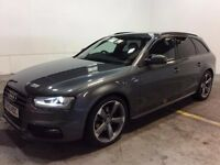 Audi A4 2.0 tdi black edition avant 120 ps 2013 / 55,000 miles fsh , finance good bad poor credit