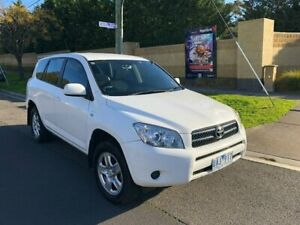 2006 Toyota RAV4 ACA33R CV White 4 Speed Automatic Wagon Maidstone Maribyrnong Area Preview