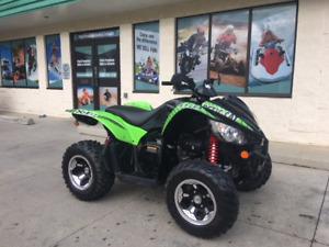 2014 Arctic Cat XC 450, 4x4, low kms for only $49 bi-weekly!!