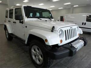 2013 Jeep Wrangler Unlimited Sahara BLOWOUT PRICE!