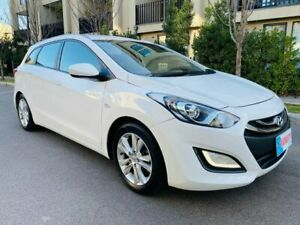 2013 Hyundai i30 GD Active Tourer White 6 Speed Sports Automatic Wagon Maidstone Maribyrnong Area Preview