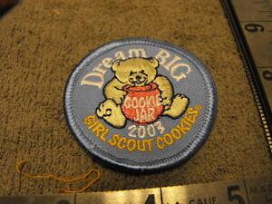 girl scouts dream big 2003 girl scout cookies cookie jar