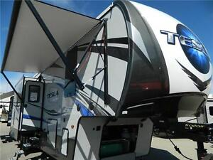 2017 TESLA 3970 YOU WILL BE TAKEN TO A WHOLE NEW LEVEL OF RVING