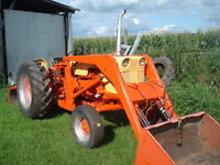 tracteur case 430
