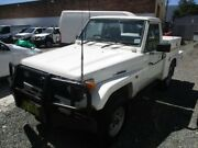 1998 Toyota Landcruiser HZJ75RP White 5 Speed Manual Cab Chassis Broadmeadow Newcastle Area Preview