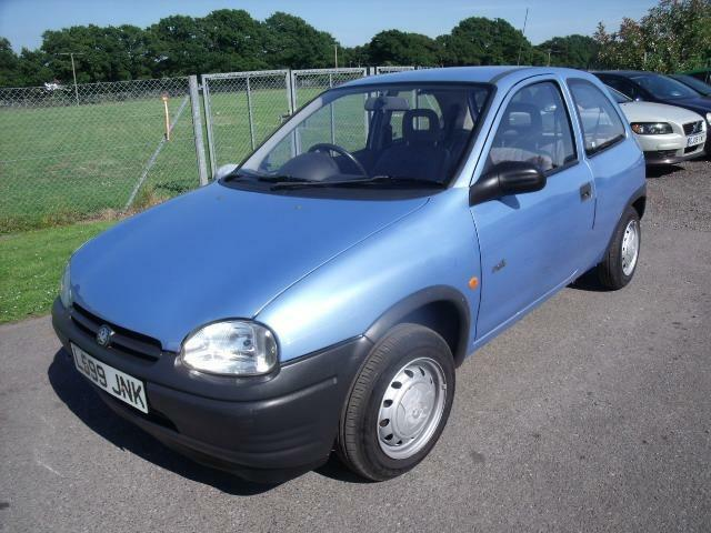 VAUXHALL CORSA MERIT - FSH, Blue, Manual, Petrol, 1994