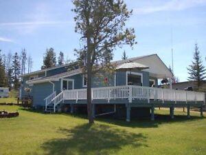 Lake Front Home in Logan Lake