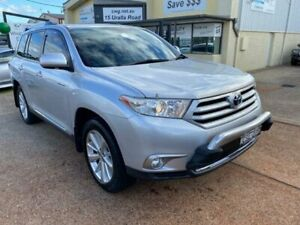 2012 Toyota Kluger GSU40R MY11 Upgrade Grande (FWD) Silver 5 Speed Automatic Wagon Port Macquarie Port Macquarie City Preview