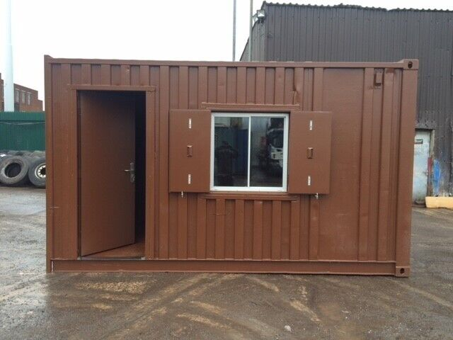 15ft x 8ft Office Shell Shipping Container | in Bury, Manchester | Gumtree
