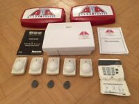 Wired house alarm system