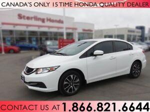 2015 Honda Civic Sedan EX | HONDA CERTIFIED | 1 OWNER | NO ACCID